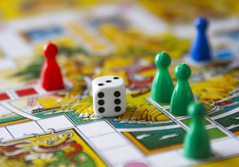 colorful board game