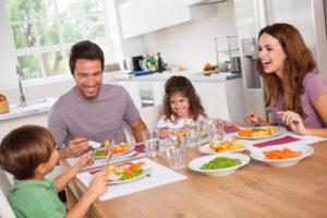 improve family meal time